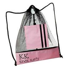 Girls Black Backpack Dance Ballet Street Tap Swim Bag By Katz Dancewear KB13