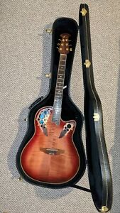 Ovation Celebrity Deluxe CS 257 electro acoustic 6 string guitar