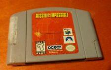 Mission: Impossible Nintendo 64 N64 Infogrames Atari , X-ample , Ocean Software