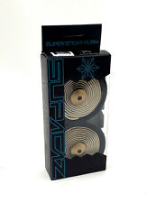Supacaz Super Sticky Kush Road Bike Handlebar Tape, Black/Gold Star Fade