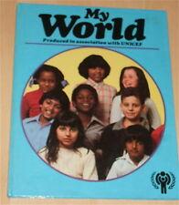 RARE UNICEF MY WORLD 1979 ANNUAL GIRLS CHILDREN'S BOOK UK GHANA PERU NEW ZEALAND