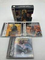 Sony PlayStation 1 PS1 007 Racing Tomorrow Never Dies Medal of Honor Lot EA