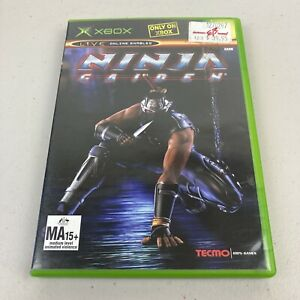 Ninja Gaiden XBOX Tested Working Complete + Manual Free Tracked Postage