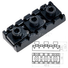 Black Floyd Rose Style Guitar Locking 42.5mm Nut String Lock  replacement