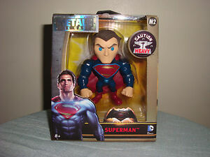 JADA METALS M2 SUPERMAN Die Cast 4 Inch Action Figure SUPERMAN M2