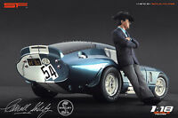 1:18 Carroll Shelby VERY RARE!!! figurine NO CARS !! for ford diecast by SF