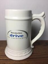 Vintage MERCEDES-BENZ Beer Mug Cup Stein Drive For Excellence Big Heavy USA Made