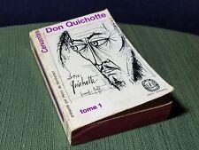 Don Quichotte Cervantes Tome 1 France 1962 Paper Back Collector RaRe Book