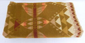 Antique Native American Indian Blanket Wrap Tapestry Navajo 80x48 1920s 30s