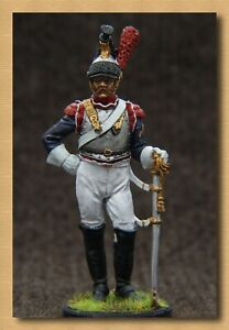 Tin soldier Napoleonic Wars (54 mm,1/32) NAP 27 France, Cuirassier of the 3rd