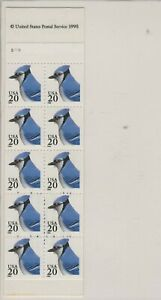 USA 1995 MNH COMPLETE UNOPENED BOOKLET BLUJAY BIRDS