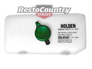 """Holden Washer Bottle """"HOLDEN"""" Torana LC LJ HK HT HG HQ windscreen wiper"""