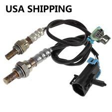 2pcs Up+Downstream Oxygen O2 Sensor For 2009-2012 Chevrolet Malibu L4 2.4L