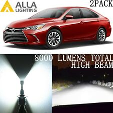 Alla Lighting LED High/Hi Beam Headlight Bulb Lamp/ DRL for Toyota,9005 White