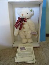 """BRAND NEW ANNETTE FUNICELLO 14"""" MUSICAL TEDDY BEAR: """"TWINKLE""""~~NRFB W/ COA~~LE"""