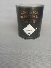 Craig & Rose 1829 Chalky Emulsion -pipe clay - 750ml wall&siling 7-9sqm cover