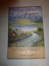 Passages Of Light by Thomas Kinkade. Burgundy Bonded Leather in Box B215