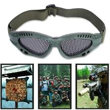 76bd38a079ab Metal Mesh Airsoft Eye Protective Glasses Shooting CS Game Hunting Glasses  New