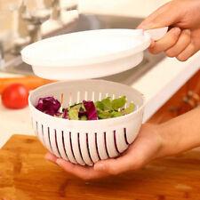 Slicer Tools 60 Seconds Salad Maker Bowl Cutter Fruit Veggie Easy Washer Chopper