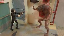 Underworld custom figures Selene and Lycan Werewolf Marvel legends size