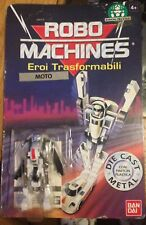 ROBO MACHINES GOBOTS EROI TRANSFORMABILI MOTO CARDED UNPUNCHED  SCARCE