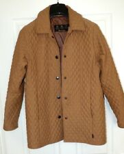 Barbour L207 Tailored Microfibre Qulited Jacket Size 10