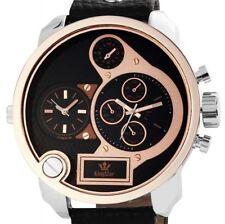 Armbanduhren aus Kunstleder mit Glanz für Herren