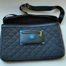"""Knomo - Slim Carrier Laptop Bag - Gray, fits up to 13-14"""" laptops, New no tags"""