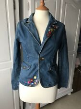 Levis ladies Ingredients blue star button customised blazer size small