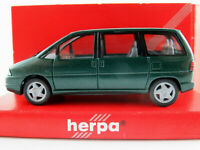 Herpa 031653 Peugeot 806 (1994-1998) in dunkelgrünmetallic 1:87/H0 NEU/OVP