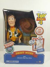 Disney's Toy Story 4 Sheriff Woody with Interactive Drop-Down Action64431 New
