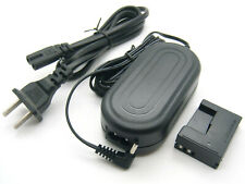 AC Adapter ACK-DC80 & DC Coupler For Canon Power Shot G1X G1 X G3X G3 X G15 G16