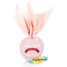 I Love Bath Bomb Fizzer Strawberries & Cream 150g Luxury Xmas Gift