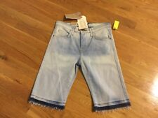 Current Elliott Women's The Bermuda Short - Size 24 - Light wash