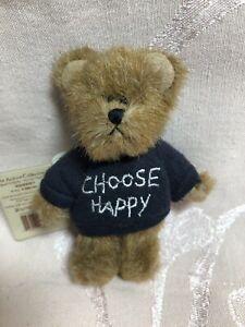 Boyds Bears Mini Message Bear Squeezy