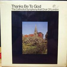 The Cathedral Symphony And Choir Of London(Vinyl LP)Thanks Be To God-Pye Sacred