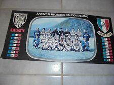 MAXI POSTER FC JUVE JUVENTUS 1975 LA SQUADRA 49 X 24 cm