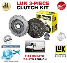 FOR FIAT DUCATO 2.8 JTD 4X4 Power CLUTCH KIT 2002-ON LUK 3 PIECE 128BHP 146BHP
