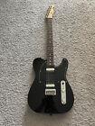 Fender Standard Telecaster HH 2015 MIM Black Rosewood Fretboard Rare Guitar