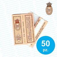 CARTINE BRAVO REX CORTE 50 LIBRETTI 2000 CARTINE