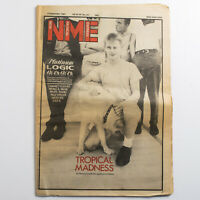 NME magazine 5 September 1981 Madness cover Rip Rig Paul Weller Meteors