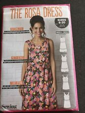 The Rosa Dress Simply Sewing Pattern Uncut sizes 6-20