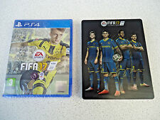 FIFA 17 STEELBOOK EDITION (Sony PS4 Game) *LIKE NEW*