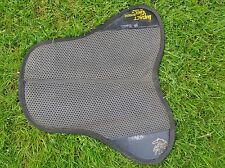 IMPACT GEL Black English Horse Half Pad / Saddle Pad
