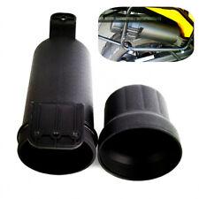 Universal Black Motorcycle Cylinder Tool Box Kit Storage Case Drum Tube Bag 1Pcs