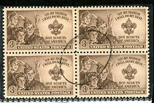 #995 Used Block - Superbly Centered w/ S.O.N. Single Oval Cancel - Masterpiece!