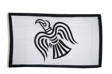 Fahne Wikinger Raven Flagge Viking Hissflagge 90x150cm