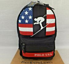 Ralph Lauren Downhill Skier CP93 Stadium Ski USA Flag Bag Backpack BNWT RRP £289