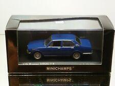 MINICHAMPS ALFA ROMEO ALFETTA 1.8 1972 - BLUE 1:43 - EXCELLENT IN BOX