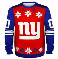 New York Giants Pullover Sweater Ugly,NFL Football,Winter Style,Gr.XL